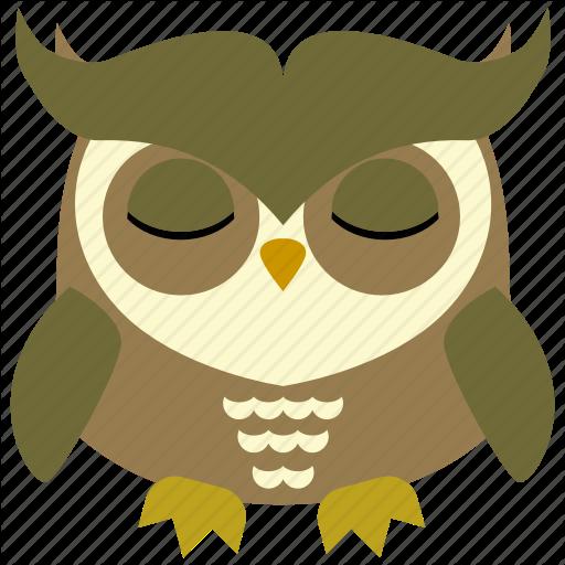 Animal, Bird, Face, Fly, Fowl, Owl Icon