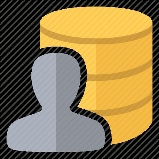Admin, Data, Database, Owner, User Icon