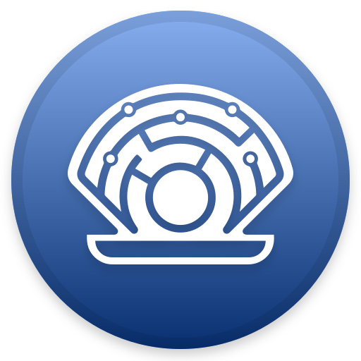 Oyster Icon Cryptocurrency Iconset Christopher Downer