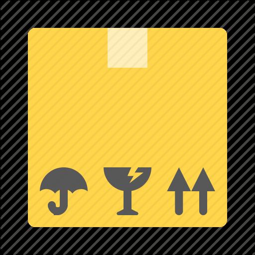 Box, Commerce, E, Fragile, Pack Icon