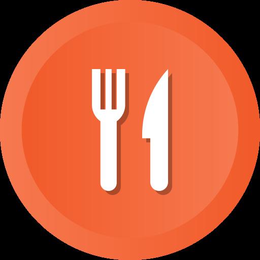 Fork, Knife, Restaurant, Spoon, Kitchen Pack Icon