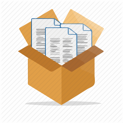 Box, Document, Documents, File, Files, Folder, Package Icon