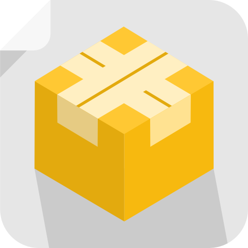 Package Icon Square Iconset Flat