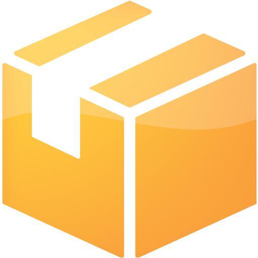 Web Orange Package Icon