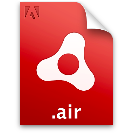 Adobe, Air, Document, File, Installer, Package Icon