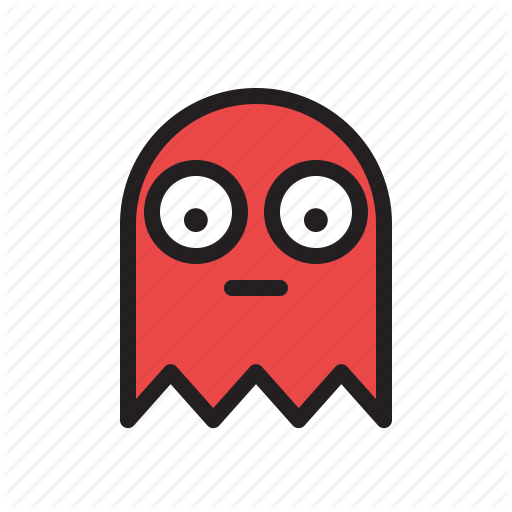Colored, Game, Games, Ghost, Pacman, Retro Icon