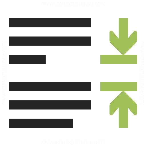 Line Spacing Paragraph Icon Iconexperience