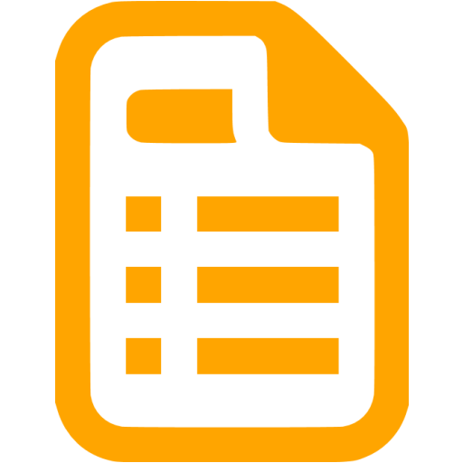 Orange Pages Icon