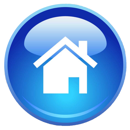 Cropped Blue Home
