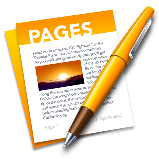 Pages Macos Icon Gallery