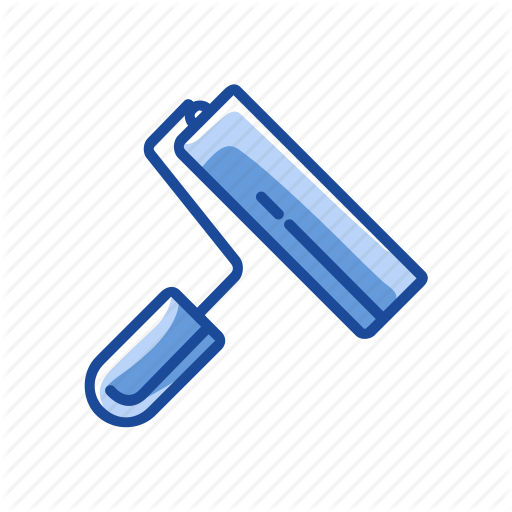 Color, Paint, Paint Brush, Ruler Brush Icon