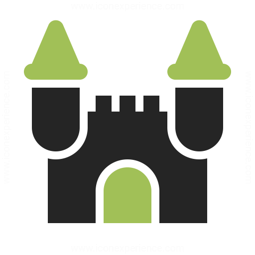 Castle Icon Iconexperience