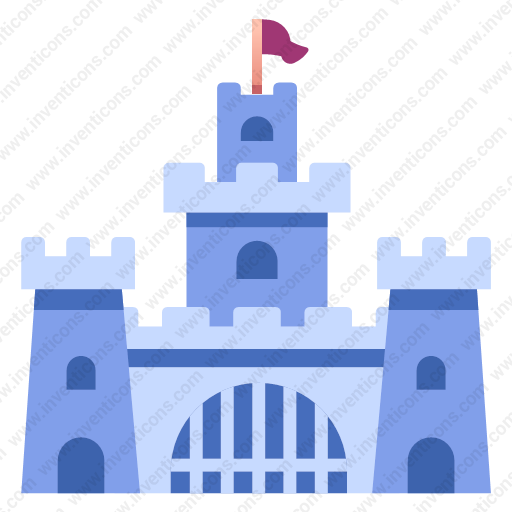 Download Castle,palace,fort Icon Inventicons