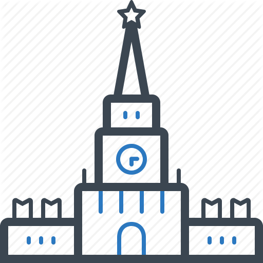 Kremlin, Landmark, Monuments, Palace Icon