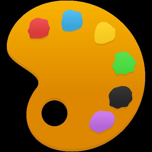 Palette Icon Flatastic Iconset Custom Icon Design