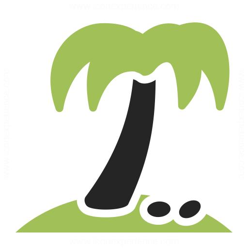 Palm Tree Icon Iconexperience