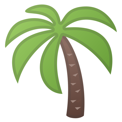 Palm Tree Icon Noto Emoji Animals Nature Iconset Google