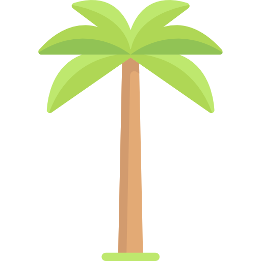 Palm Tree Free Vector Icons Designed