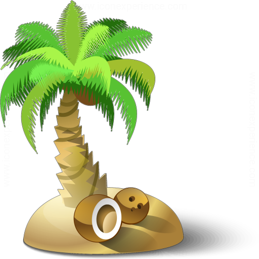 Iconexperience V Collection Palm Tree Icon