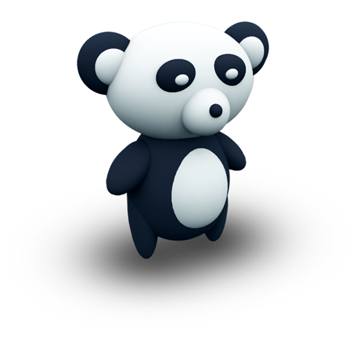 Bear, Panda, Stuffedtoys, Porcelaine, Toy, Animal Icon Free