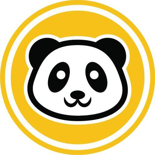 Cute Panda Bear Face Con