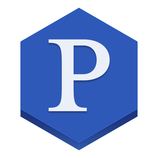 Pandora Icon Hex Iconset