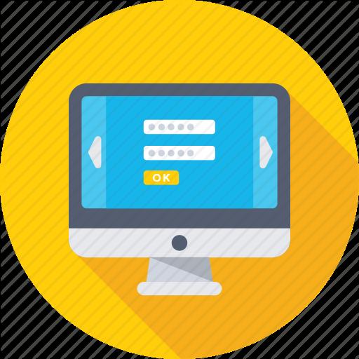 Account, Login, Monitor, Signin, User Panel Icon