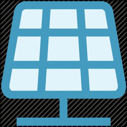 Ecology, Energy, Panel, Solar, Solar Board, Solar Panel Icon