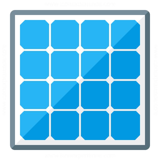 Iconexperience G Collection Solar Panel Icon