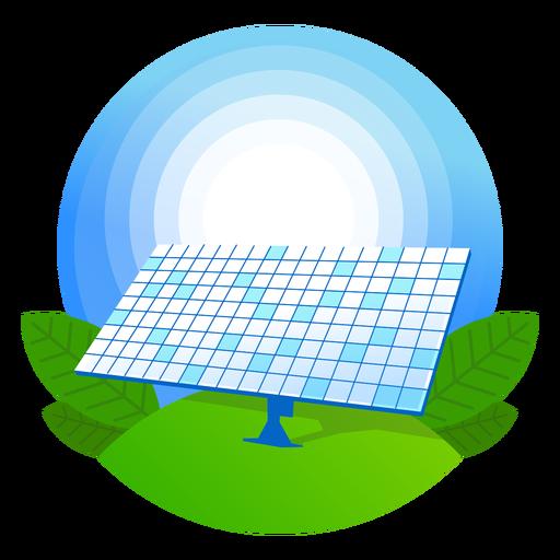 Nature Solar Panel Icon
