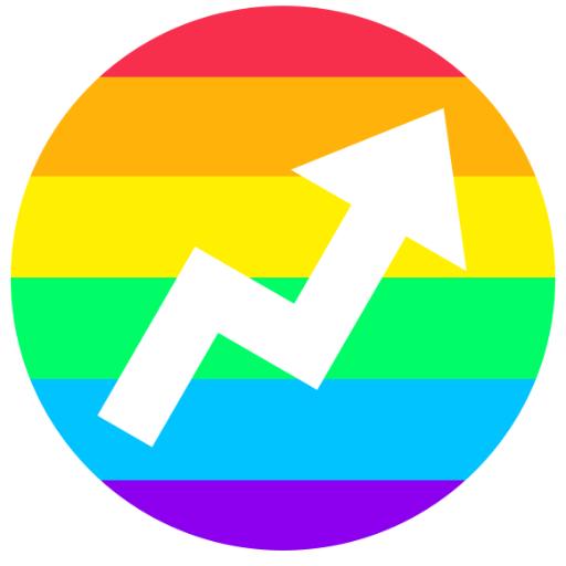 Beautiful Rainbow Brand Logos Celebrating Marriage Equality