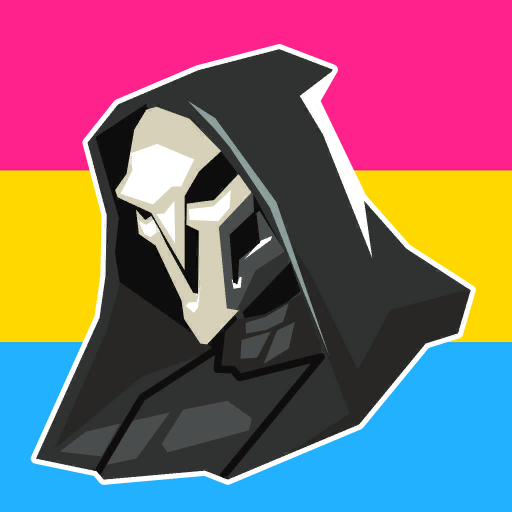 Pride Icons For Your Favorite Heros Pansexual Reaper Icons
