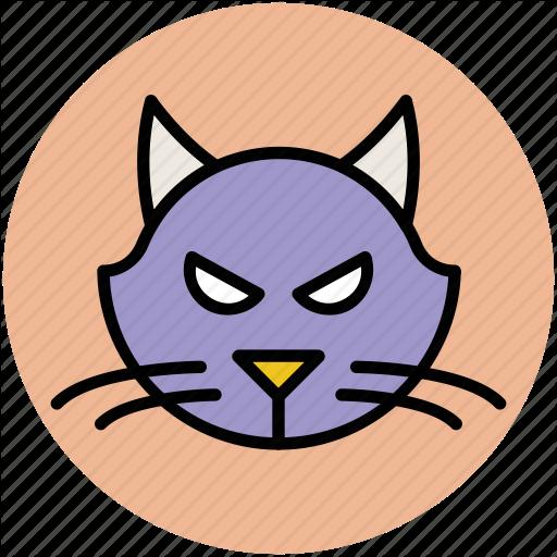 Animal, Animal Face, Cartoon Panther, Panther, Panther Face Icon