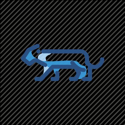 Animal, Cheetah, Leopard, Panther, Puma, Tiger Icon