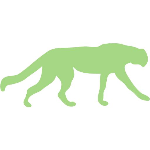 Guacamole Green Cheetah Icon