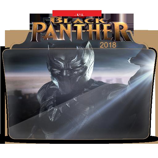Marvel Studio Black Panther Movie Folder Icon