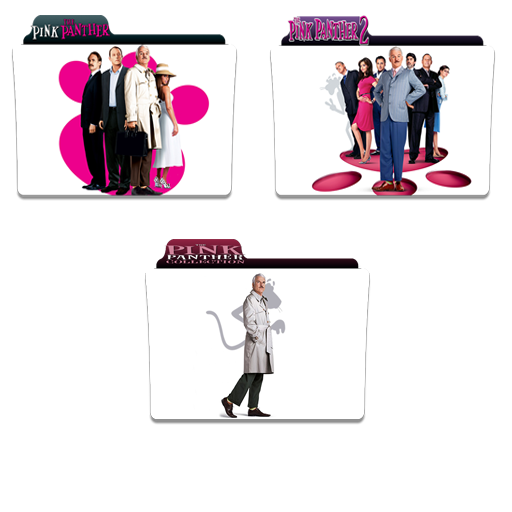 The Pink Panther Folder Icon Pack