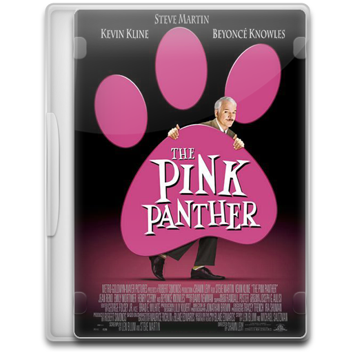 The Pink Panther Icon Movie Mega Pack Iconset