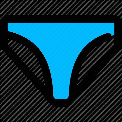 Bikini, Briefs, Panty, Thong Icon