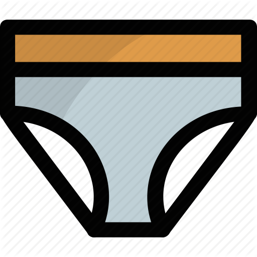 Panty, Thong, Undergarments, Underpants, Underwear Icon