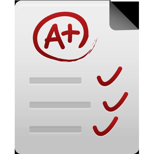 Test Paper Icon Pretty Office Iconset Custom Icon Design