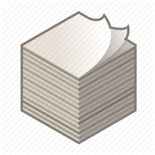 Cards, Cube, Heap Of Paper, Paper, Print, Ream, Ream Of Paper Icon