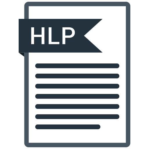 Documents, File, Format, Hlp, Paper Icon
