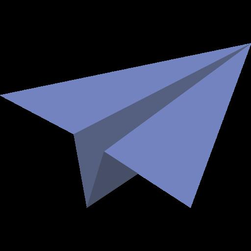 Paper Plane, Childhood, Origami Icon