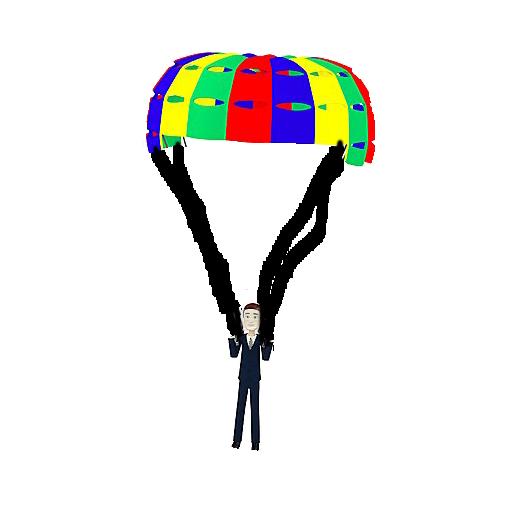 Play 'parachute' On Gamesalad Arcade
