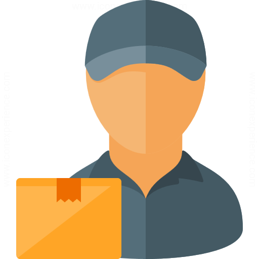 Iconexperience G Collection Delivery Man Parcel Icon