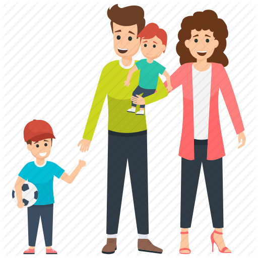 Children, Family, Happy Family, Parenthood, Parents Icon