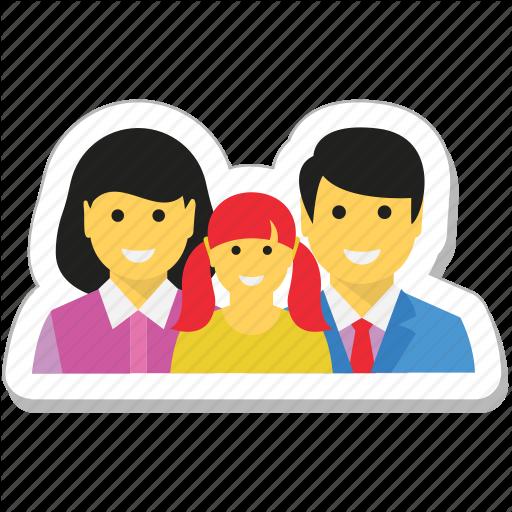 Couple, Family, Loving, Man, Parents Icon