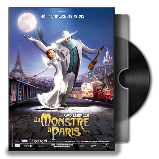 A Monster In Paris Folder Icon