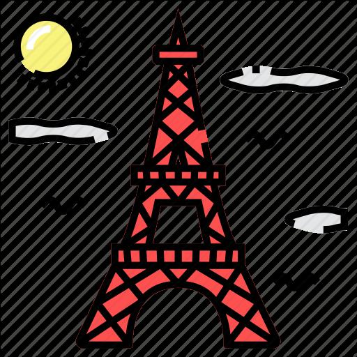 Architecture, Eiffel, France, Paris Icon